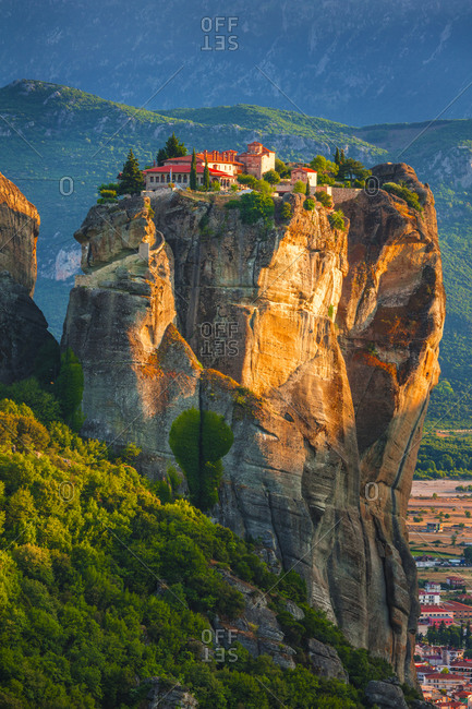 Holy Trinity Monastery in Greece