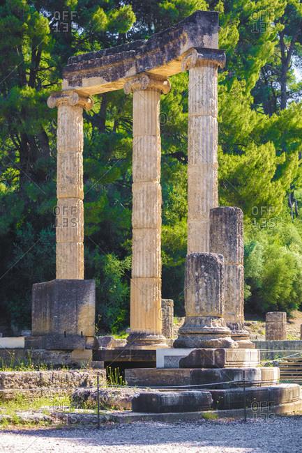Philippeion, Ionic circular temple, Greece