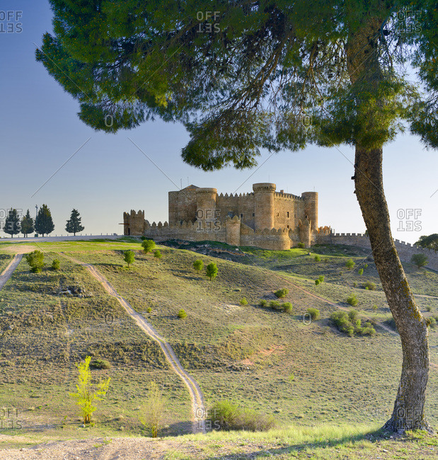 Belmonte Castle (Castillo de Belmonte), view of the medieval castle