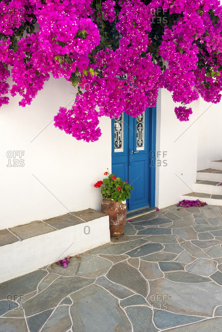 Cycladic traditional architecture