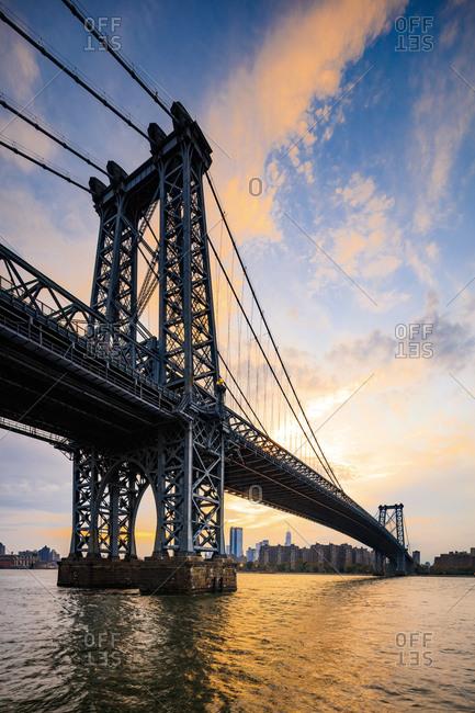 Williamsburg Bridge, Domino Park, New York