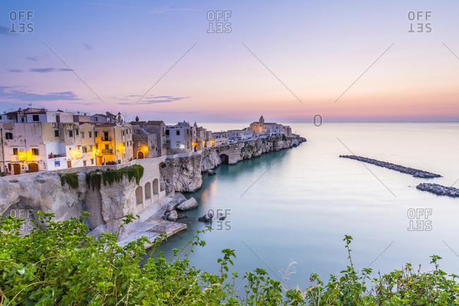 Italy - September 1, 2018: Punta di San Francesco (San Francesco Promenade)