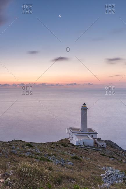 Palascia Lighthouse in Cape Otranto, Portugal