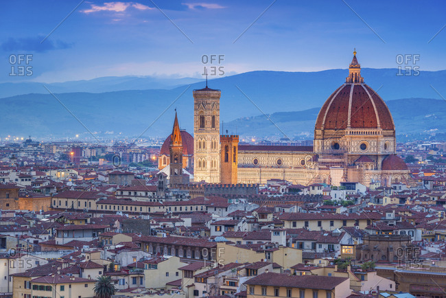 View from Piazzale Michelangelo in Italy