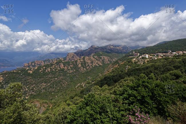 France- Corse-du-Sud- Piana- Calanques de Piana in summer