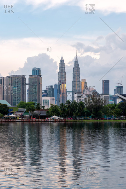 March 18, 2018: Views of the skyline in Kuala Lumpur, Malaysia