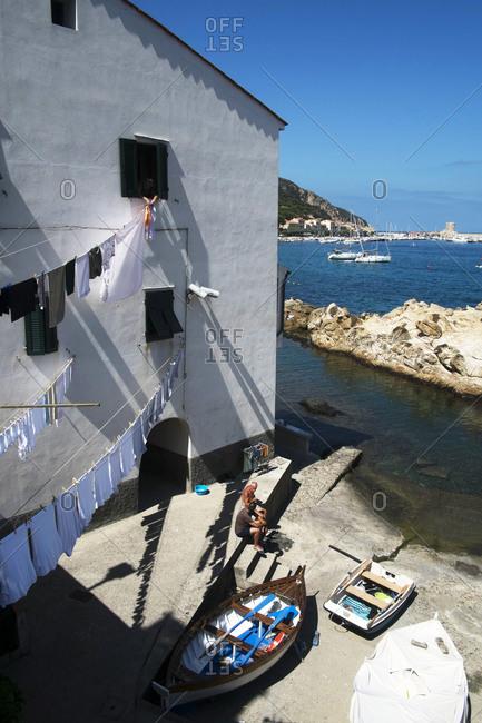August 15, 2020: Marciana Marina, Elba Island, Tuscany, Italy, Europe