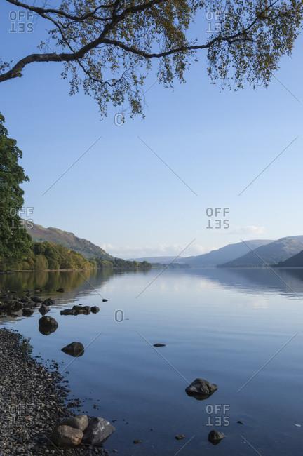 Ullswater, Lake District National Park, UNESCO World Heritage Site, Cumbria, England, United Kingdom, Europe