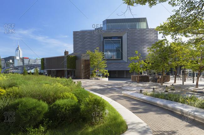 August 9, 2020: Museum of Art, Tsim Sha Tsui, Kowloon, Hong Kong, China, Asia