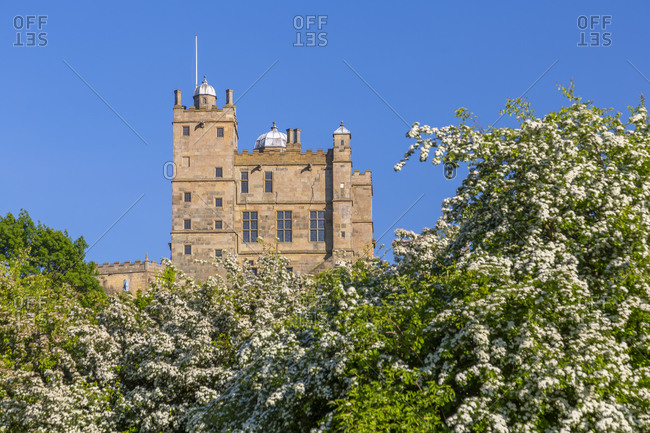 View of Bolsover Castle, Bolsover, Derbyshire, England, United Kingdom, Europe