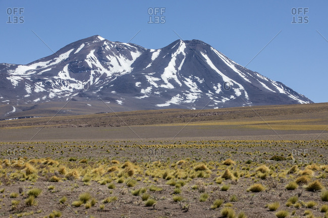 Stratovolcanoes in the Andean Central Volcanic Zone, Antofagasta Region, Chile, South America
