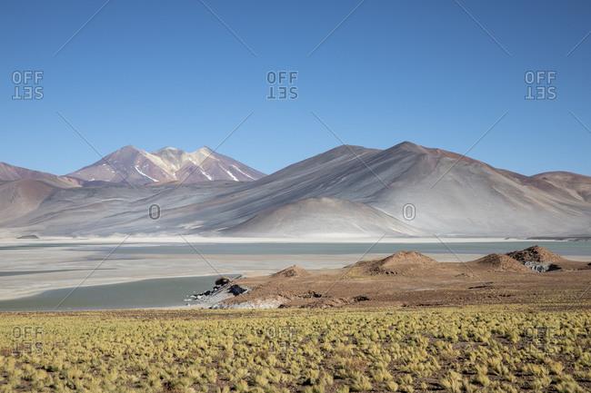 Salar de Aguas Calientes, Los Flamencos National Reserve, Antofagasta Region, Chile, South America