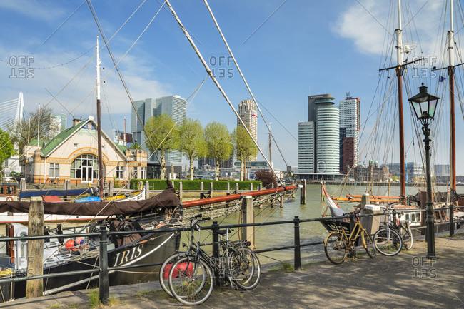 April 22, 2019: Veerhaven Port, Rotterdam, South Holland, Netherlands, Europe