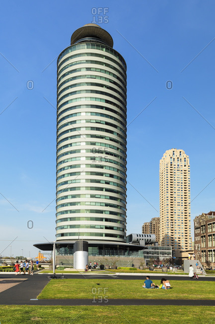 April 22, 2019: World Port Center, Rotterdam, South Holland, Netherlands, Europe