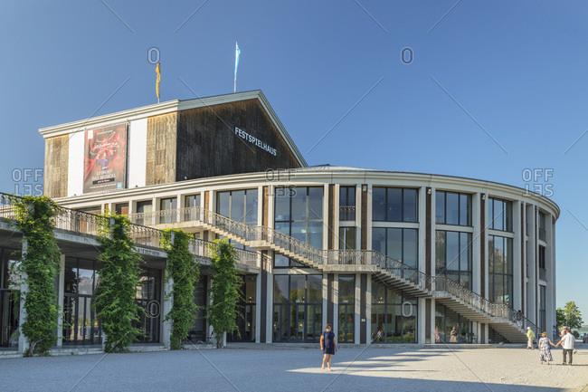 June 29, 2019: Festival Hall, Fussen, Allgau, Schwaben, Bavaria, Germany, Europe