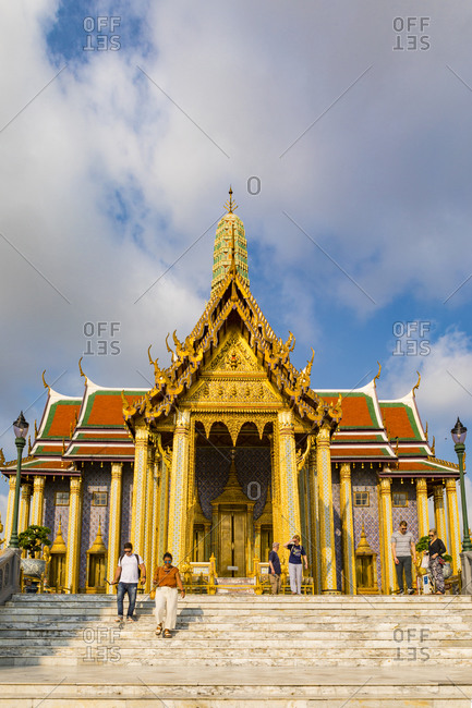 March 7, 2018: The Grand Palace, Bangkok, Thailand, Southeast Asia, Asia