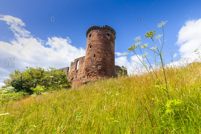 Bothwell Castle, Uddingston, South Lanarkshire, Scotland, United Kingdom, Europe