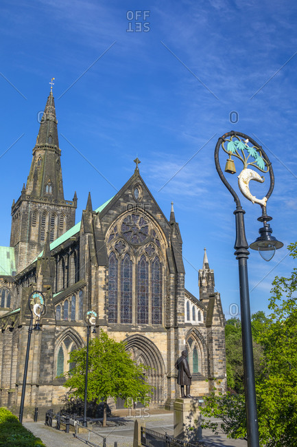 June 14, 2020: Glasgow Cathedral, Glasgow, Scotland, United Kingdom, Europe