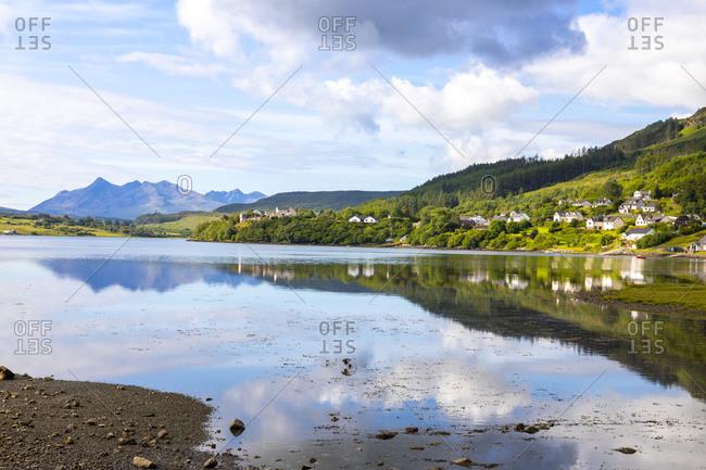Loch Portree, Isle of Skye, Inner Hebrides, Highlands and Islands, Scotland, United Kingdom, Europe