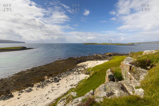 Claigan Coral Beach, Isle of Skye, Inner Hebrides, Highlands and Islands, Scotland, United Kingdom, Europe