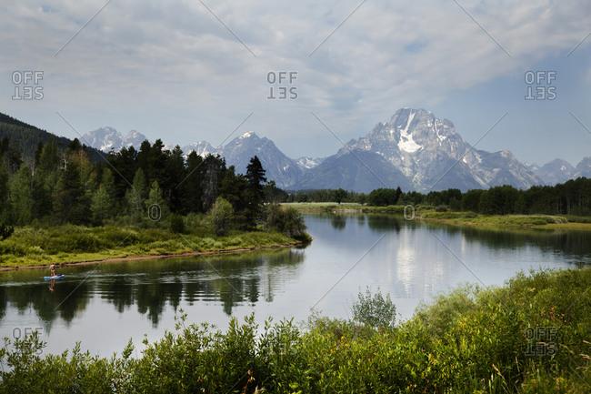 Grand Teton, Wyoming famous photo spot