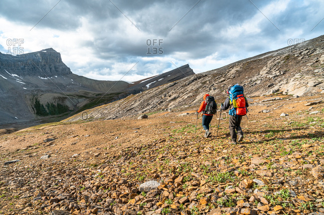 Hiking in Canada's Remote Rocky Mountains High in the Alpine