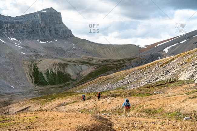 Trekking Through the Remote Alpine of the Canadian Rockies