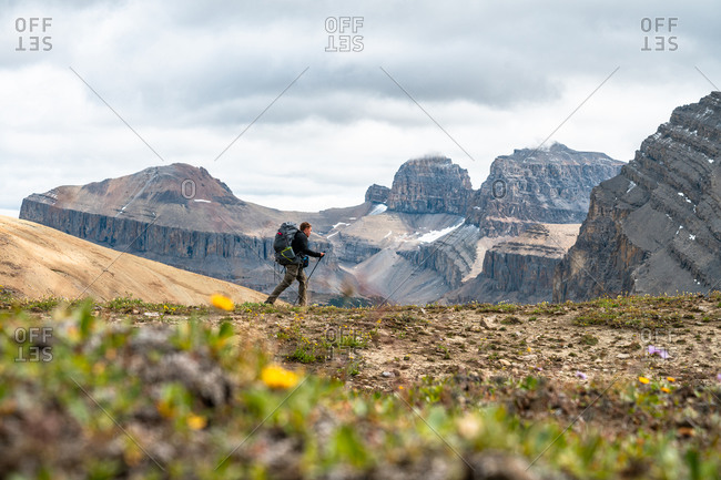 Hiking Deep into the Remote Backcountry of Banff National Park