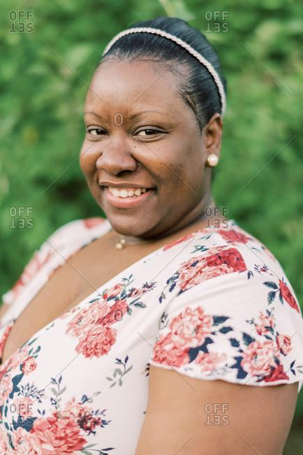 Portrait of a beautiful confident black woman