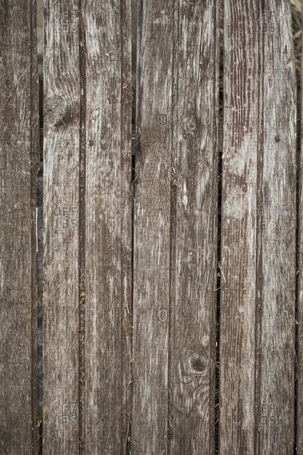 Old gray wooden background outdoors