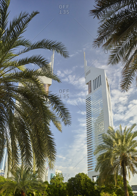 January 20, 2020: Jumeirah Emirates Tower, Dubai, United Arab Emirates