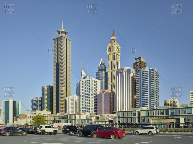 January 20, 2020: Millennium Plaza Hotel, Al Yaqoub Tower, Dubai, United Arab Emirates