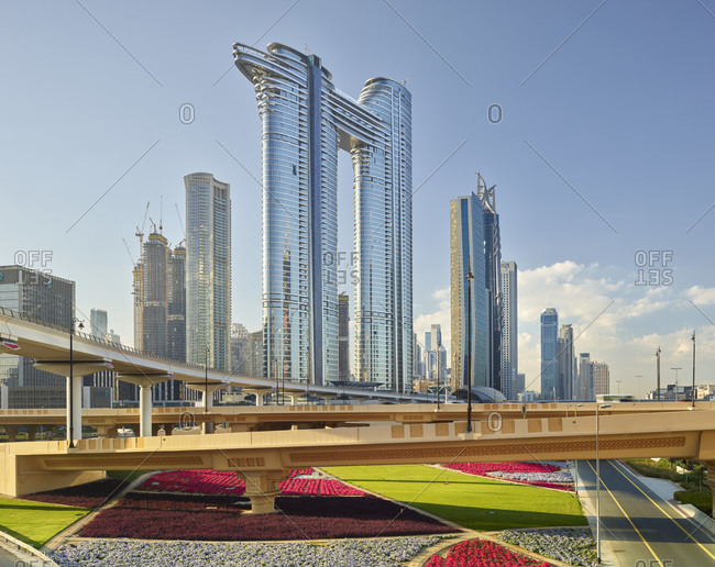 January 21, 2020: Address Sky View Hotel, Dubai, United Arab Emirates
