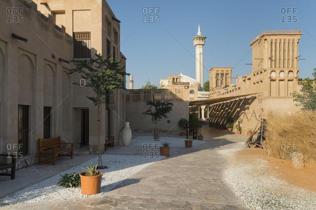 Al-Bastakiyya district, Al Fahidi, Dubai, United Arab Emirates