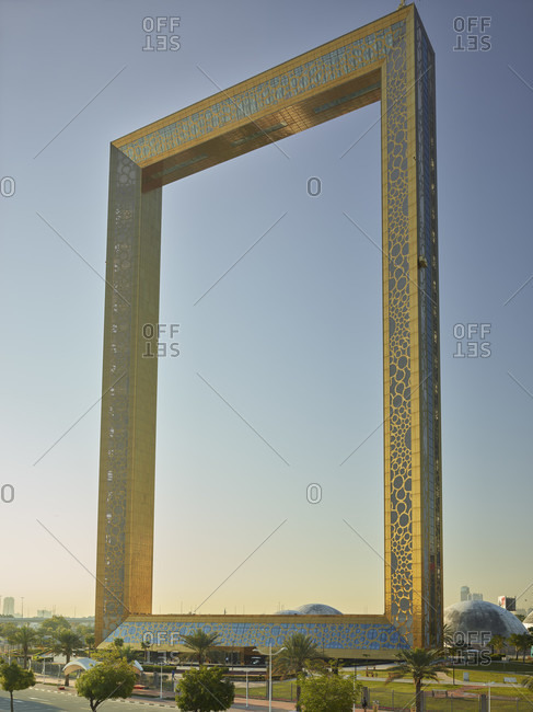 January 22, 2020: Dubai Frame, Dubai, United Arab Emirates