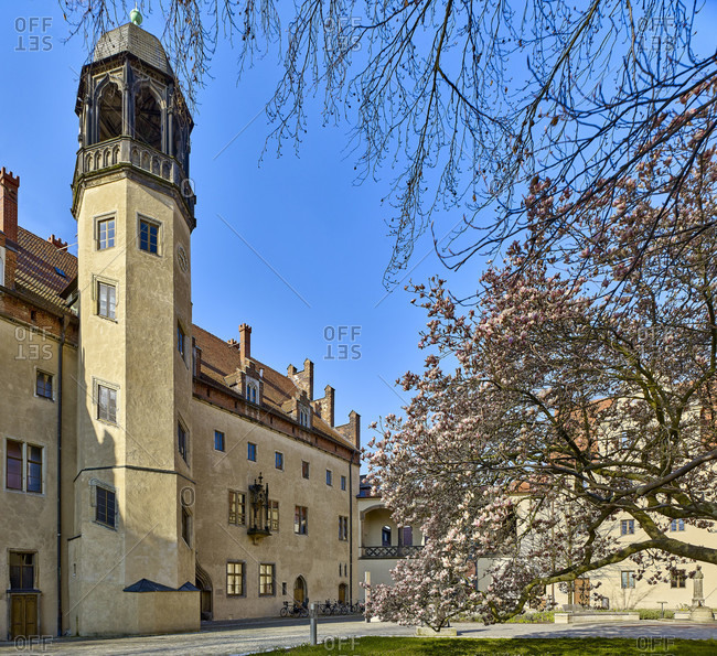 Lutherhaus in Wittenberg, Saxony-Anhalt, Germany
