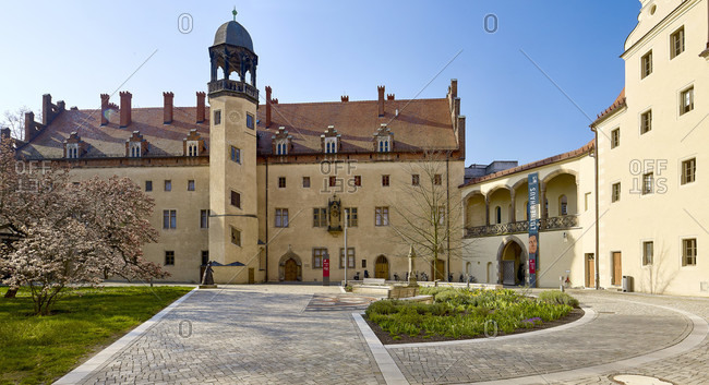 April 8, 2020: Lutherhaus in Wittenberg, Saxony-Anhalt, Germany