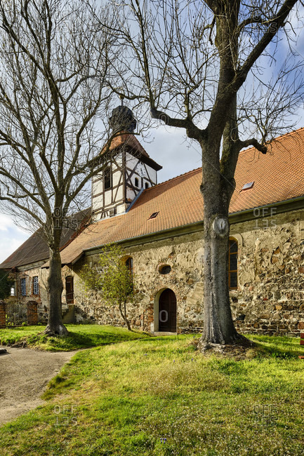 Komtureikirche Buro, part of Coswig, Wittenberg district, Saxony-Anhalt, Germany