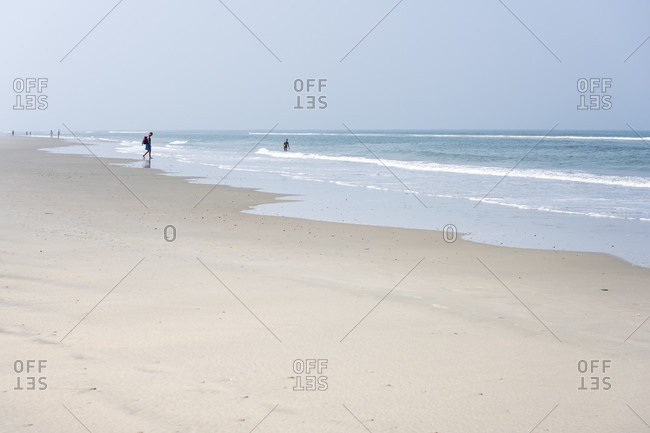 Germany, Lower Saxony, East Frisia, Juist, approx. 17 kilometers long sandy beach.