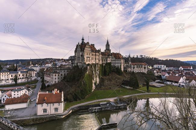 Sigmaringen Castle, Prince of Hohenzollern, Danube, Sigmaringen, Baden-Wuerttemberg, Germany, Europe