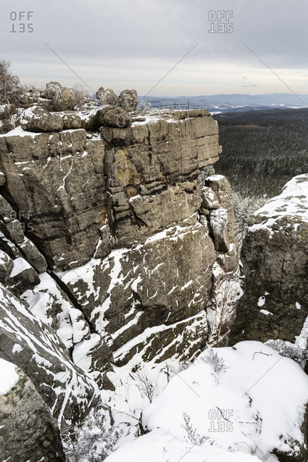 Europe, Poland, Europe, Poland, Lower Silesia, Szczeliniec Wielki / Szczeliniec Wielki / Stolowe Mountains National Park