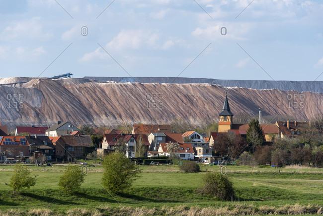 Germany, Saxony-Anhalt, view of Loitsche.