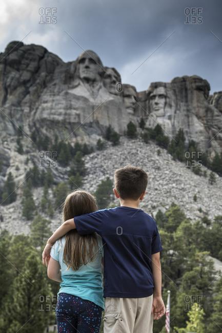 Mount Rushmore Brother Sister Hug