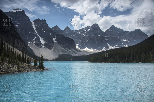 Lake Moraine Banff National Park