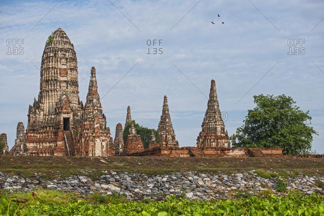 Ancient temple Wat Chaiwatthanaram in Ayutthaya