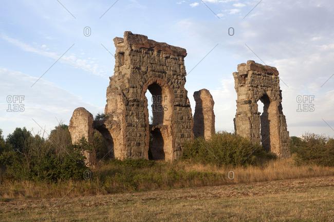 Acqua Claudia, Rome, Lazio, Italy, Europe