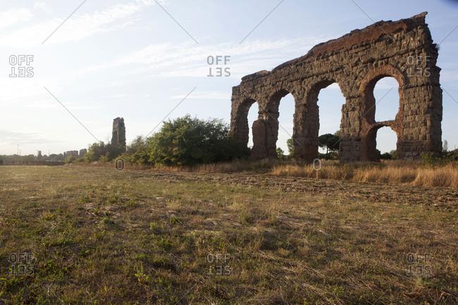 Claudio Aqueduct, Rome, Lazio, Italy, Europe
