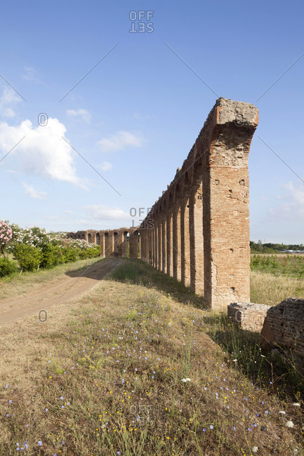 The Quintili, private aqueduct of Roman consuls, Rome, Lazio, Italy, Europe