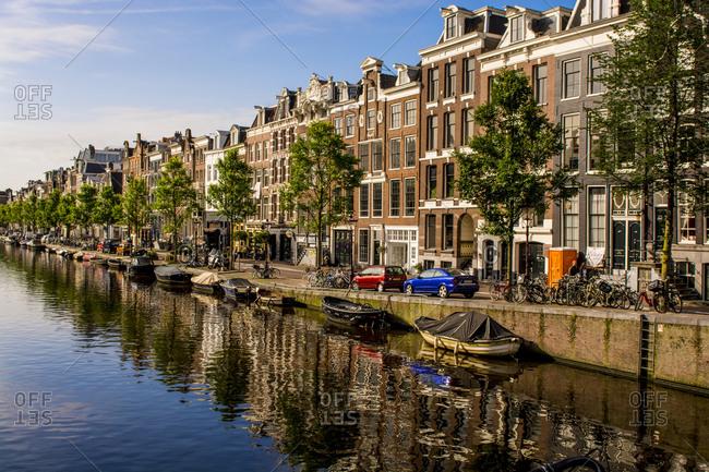 Prinsengracht Canal, Amsterdam, North Holland, Netherlands, Europe
