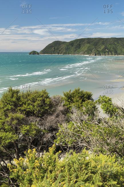 Wainui Bay, Golden Bay, Tasman, South Island, New Zealand, Pacific